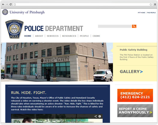 University of Pittsburgh Police Department